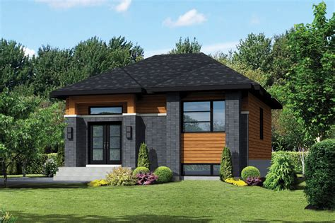 Home Design 900 Square : Contemporary Style House Plan