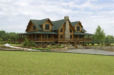 inspiring log home plans with wrap around porch nearby log houses wrap around porches just like it