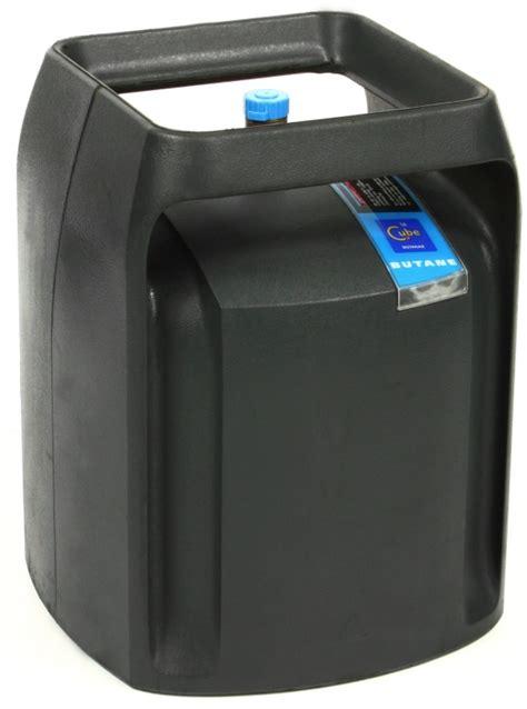 la plus bouteille de gaz est le cube gaz de butagaz