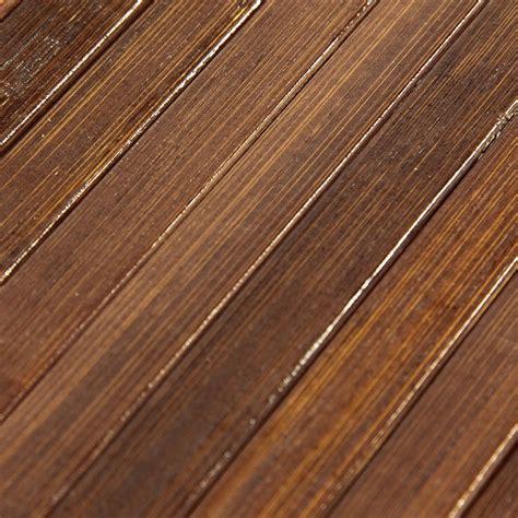 grand tapis bambou pas cher chocolat 200x290cm monbeautapis