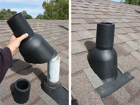 Rubber Boot For Stove Pipe by Upgrade A Roof With Architectural Shingles Extreme How To