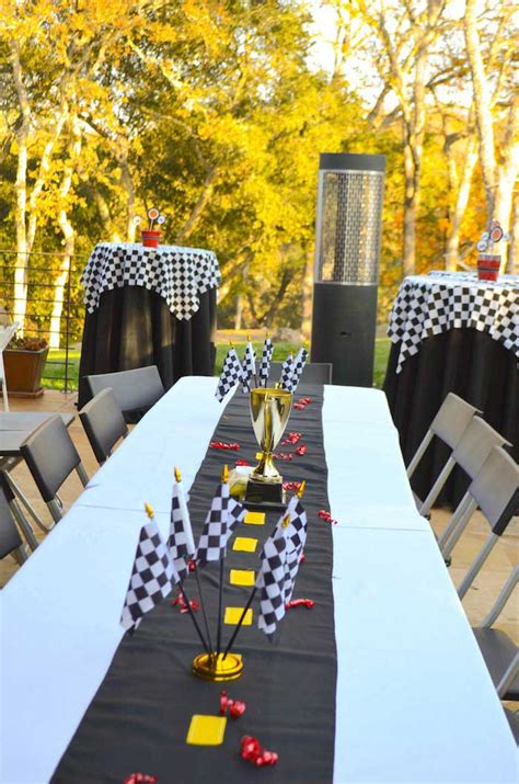 Kara's Party Ideas Race Car Themed Birthday Party {decor