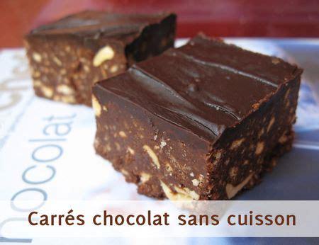 carr 233 s tout chocolat sans cuisson