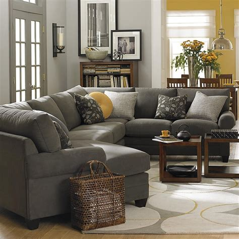 grey sectional living room ideas best 25 gray living rooms ideas on gray