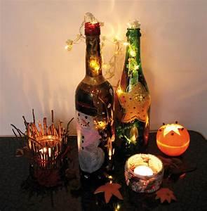 Lichterkette In Flasche : leuchtende flaschen erstellen kingkalli ~ Markanthonyermac.com Haus und Dekorationen