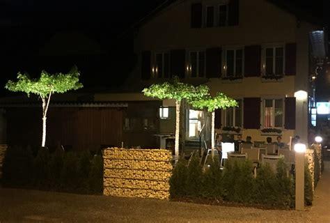 Restaurant Schönholzerswilen Gartenbeleuchtung
