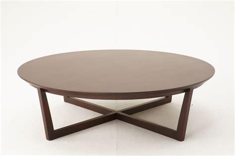 table basse ronde bois fer forg 233 le bois chez vous