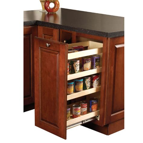 kitchen wood base cabinet pull out organizer by hafele