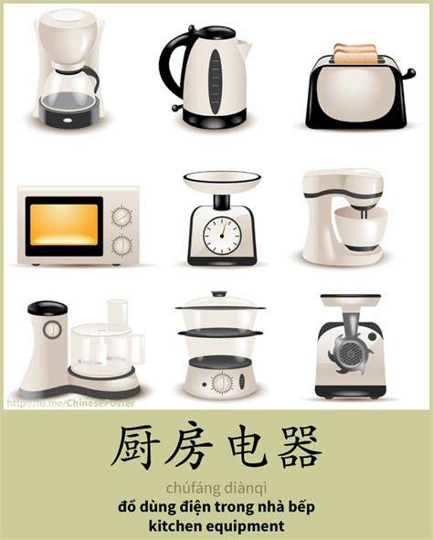 30 Best Images About Chinese Words  Kitchen Accessories