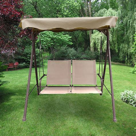 19 sears canada patio swing replacement canopy for 3 person swing beige riplock 29