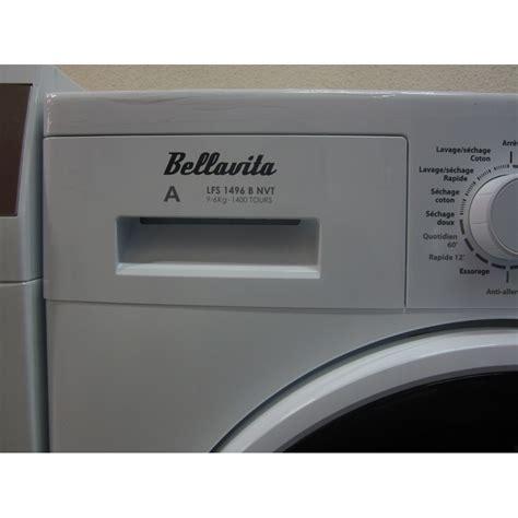 test bellavita by electro d 233 p 244 t lfs1496bnvt lave linge