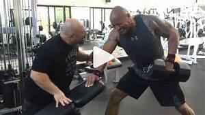 The Rock and Hany Rambod Killing it in the Gym | Muscle ...