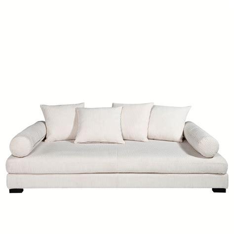 canap 233 am pm canap 233 velours lennon confort ferme prix 559 20 euros ventes pas cher