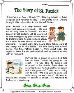 The Story of St. Patrick: Reading/ 3 Vocabulary Worksheets ...