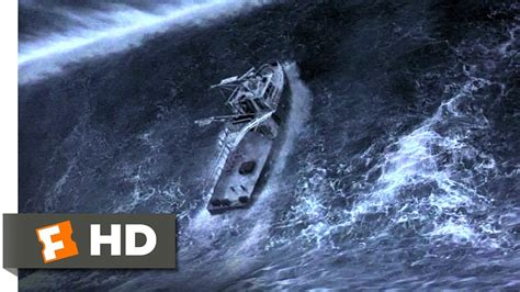 Driving Boat In Waves by The Giant Wave The Perfect Storm 3 5 Movie Clip 2000
