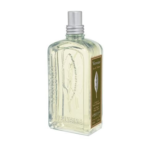 l occitane verbena eau de toilette spray 100ml feelunique