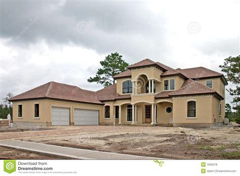 construction 224 la maison de luxe 1 photo stock image 1845218