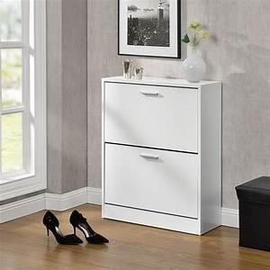 Schuhschrank Flach Weiß : schuhschrank schuhkipper schuhregal schrank schuhaufbewahrung kommode ebay ~ Markanthonyermac.com Haus und Dekorationen