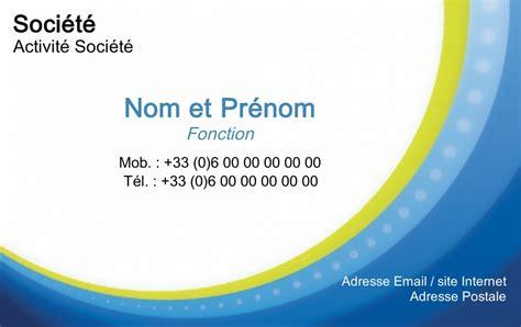 carte de visite pour professionnels mod 232 le gratuit 224 personnaliser