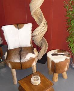 Hocker Mit Fell : sessel stuhl aus teakholz mit echtem ziegen fell bezug hocker aus holz ziege ebay ~ Markanthonyermac.com Haus und Dekorationen