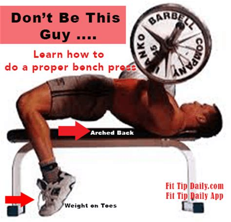 Correct Bench Press Technique For A Better Physique Fit