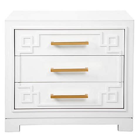 3 drawer nightstand modern sleek nightstand z gallerie