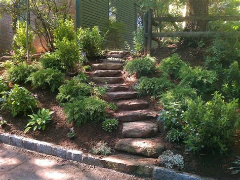 Slope Yard Ideas by 2 Landscaping Landscaping Ideas For Backyard Slopes