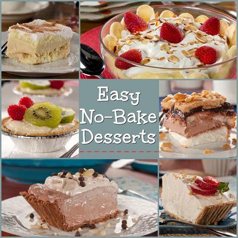 easy no bake desserts everydaydiabeticrecipes