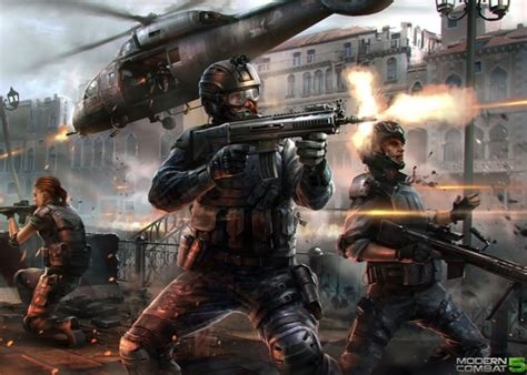 modern combat 5 blackout launches july 24th on android and ios