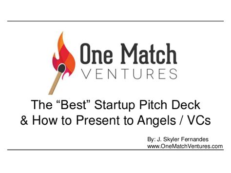 the best startup pitchdeck updated