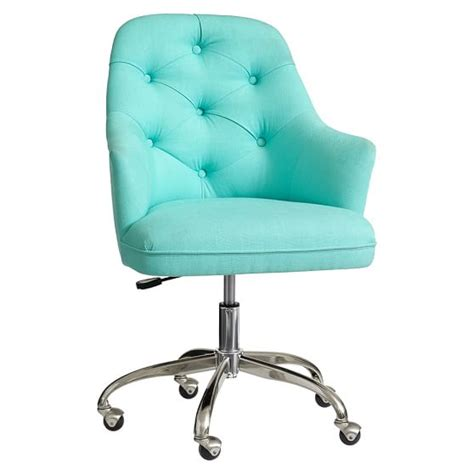 Twill Tufted Desk Chair  Pbteen. Help Desk Ticketing. Glass Display Table. Keurig Stand With Drawer. Twin Bed Drawers. Modern Drawer Pull. 8 Foot Table Cloth. World Market Table Lamps. Ergotron Workfit-d Sit-stand Desk