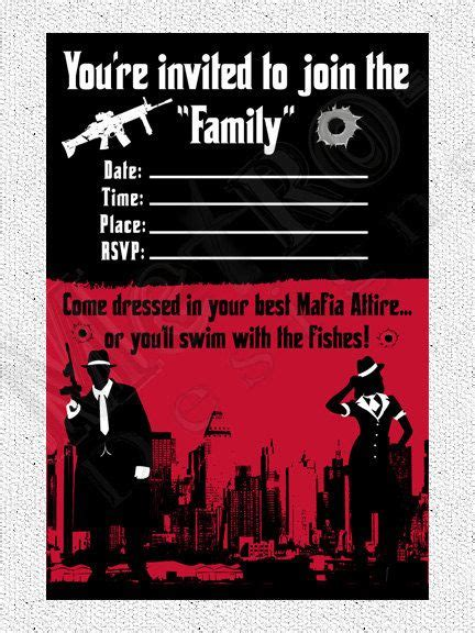 Best 25+ Gangster Party Ideas On Pinterest  Mafia Theme