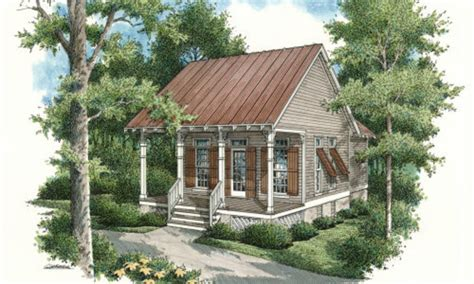 cottage style house plan 1 beds 1 baths 569 sq ft plan