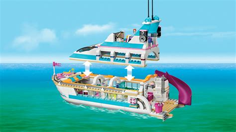 Barbie Boat Lego by Lego Friends 41015 Dolphin Cruiser Co Uk Toys