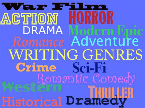 5 Tips For Choosing Writing Genres