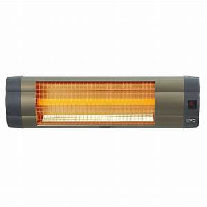 UFO 1500 Watt 110 Volt Electric Mid-Wave Infrared Heater ...