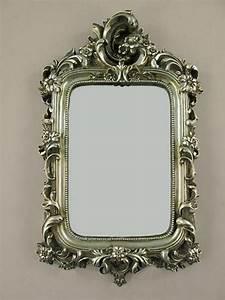 Wandspiegel Antik Silber : wandspiegel deco spiegel barockspiegel rahmen antik silber barockrahmen ~ Whattoseeinmadrid.com Haus und Dekorationen