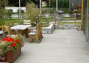 Kleine Terrasse Gestalten : kleine g rten gro gestalten ~ Markanthonyermac.com Haus und Dekorationen