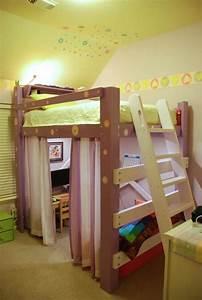 Hochbett Vorhang Nähen : jugendzimmer mit hochbett 90 raumideen f r teenagers ~ Markanthonyermac.com Haus und Dekorationen