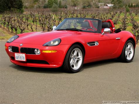 Fun Red 2002 Bmw Z8 Roadster For Sale