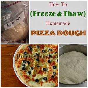 Preety's Kitchen: How To ( Freeze & Thaw ) Homemade Pizza ...