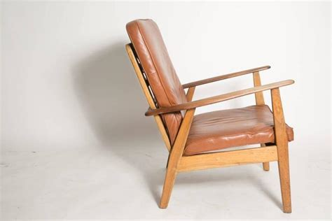 Leather Cigar Chair Attributed To Hans J. Wegner For Sale Solar Lights For Fence How To Replace Light Batteries Angel Outdoor Path Lighted Christmas Decorations Led Hanging Photography Lighting Setup Wall