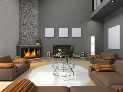 living room decorating ideas with a corner fireplace