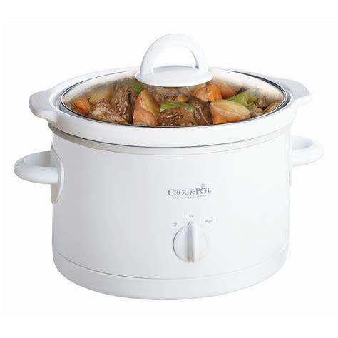 the crock pot 174 manual cooker in white at crock pot