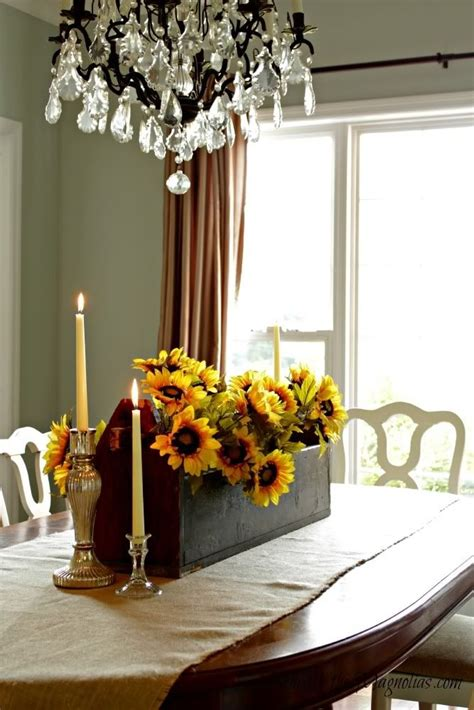 fall dining room centerpiece home ideas