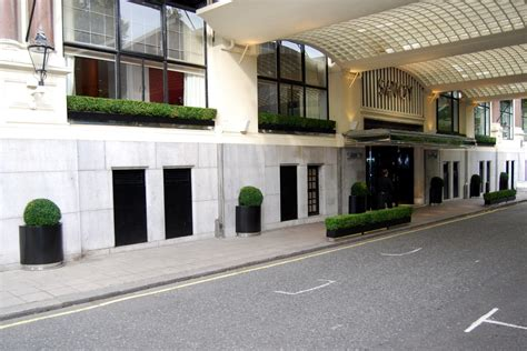 Savoy Hotel Project  Planters And Street Furniture