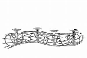 Adventskranz Edelstahl Dekorieren : fink corona leuchterband kerzenleuchter ~ Markanthonyermac.com Haus und Dekorationen