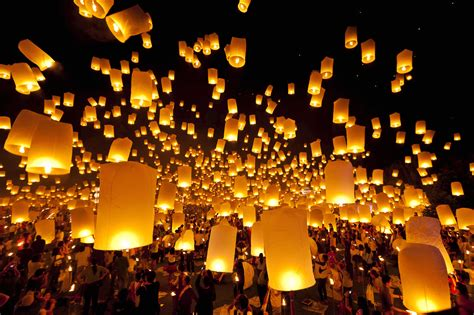 these sky lantern celebrations reflect a symbol of photos huffpost