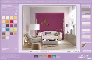 Farben Für Kleine Räume Mit Dachschräge : farbdesigner von sch ner wohnen so funktioniert er sch ner wohnen ~ Markanthonyermac.com Haus und Dekorationen