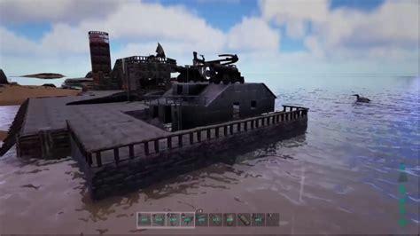 Ark Boat Youtube by Ark Boat Building Tutorial Youtube